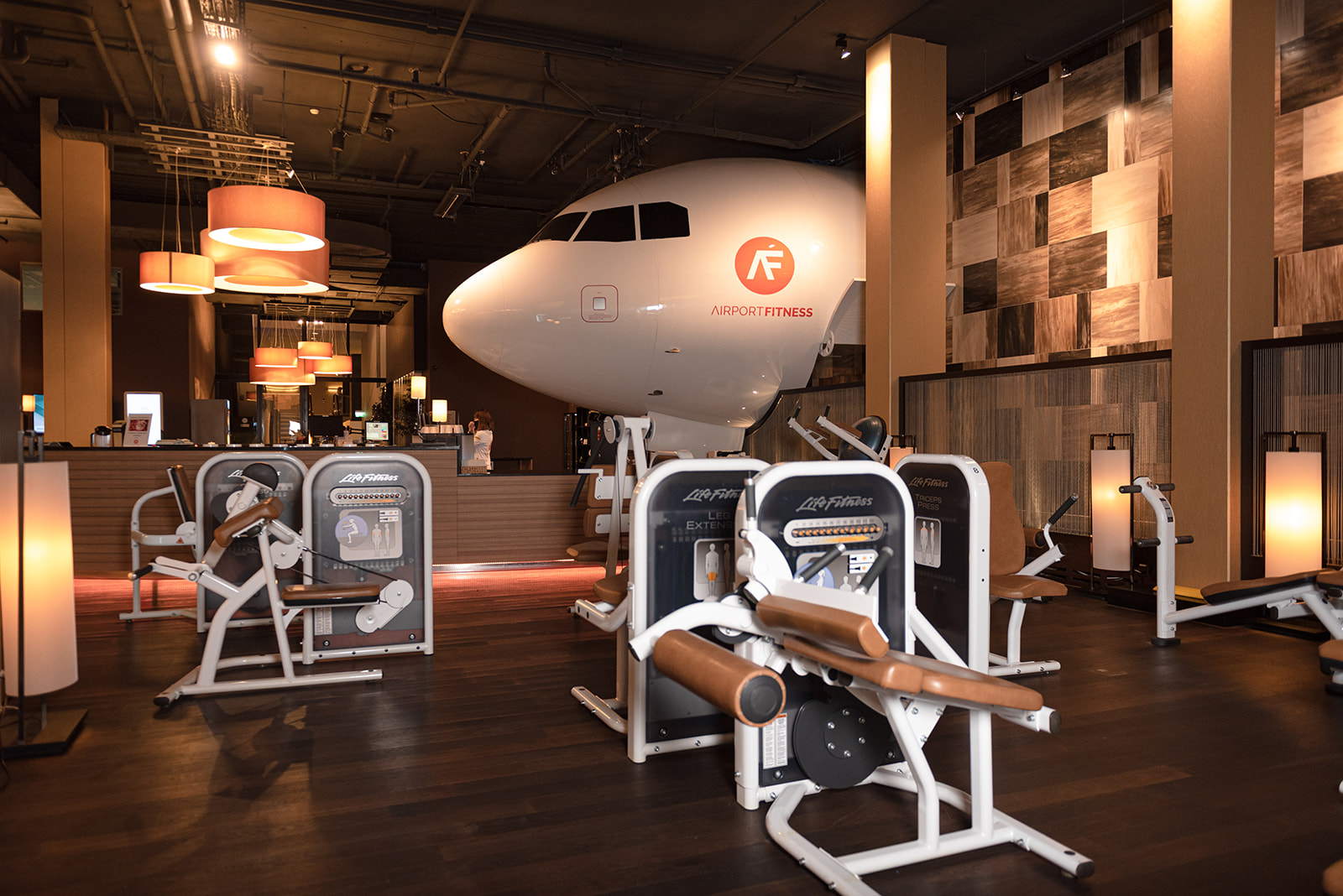 Covid-Testcenter im Airport Fitness